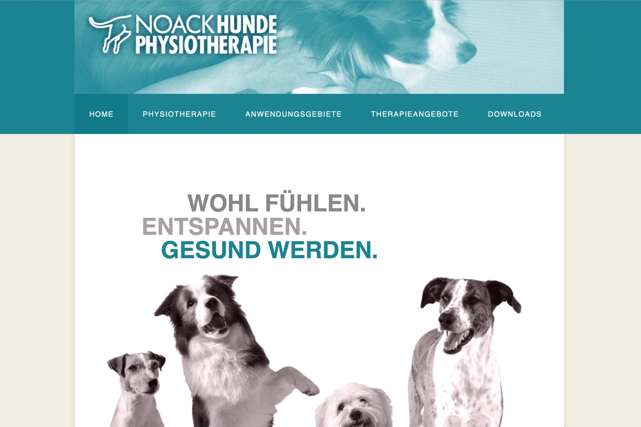Noack Hunde-Physiotherapie | Design: Johannes Willwacher