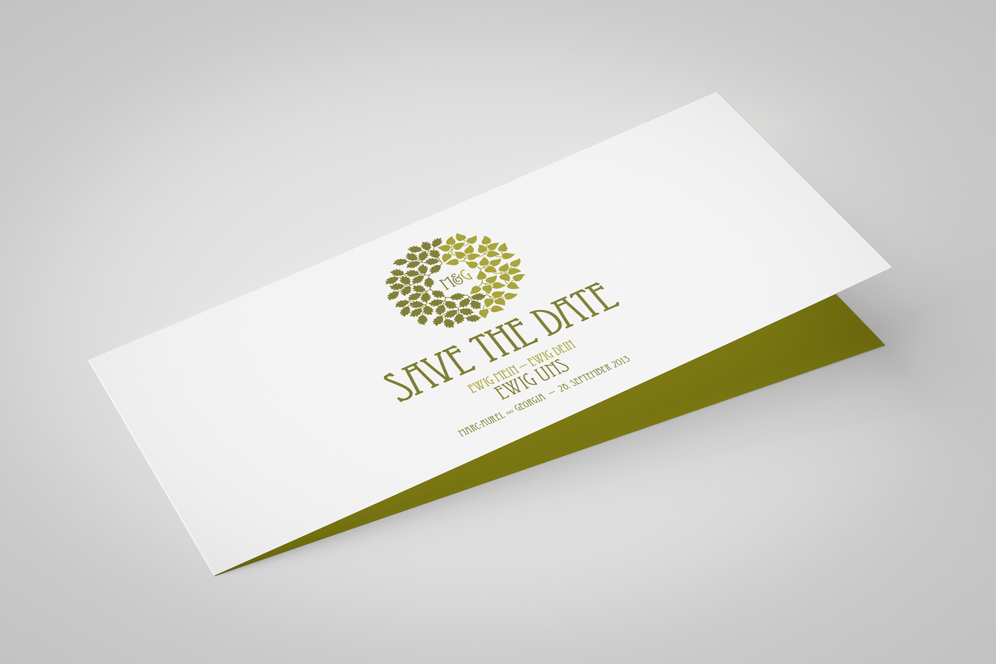 Save the Date | Gestaltung und Illustration: Johannes Willwacher
