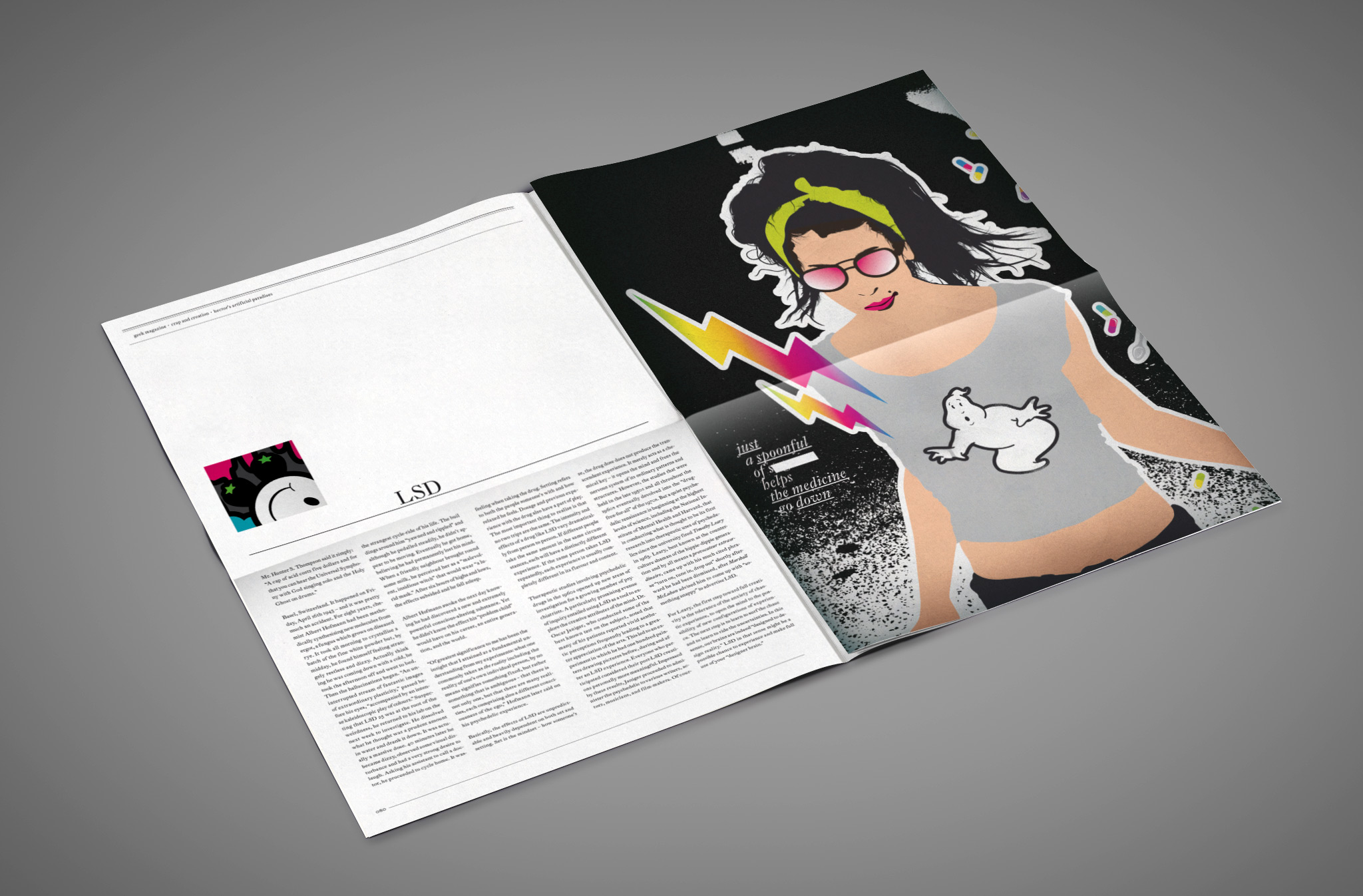 Geek Magazine | Design und Illustration: Johannes Willwacher