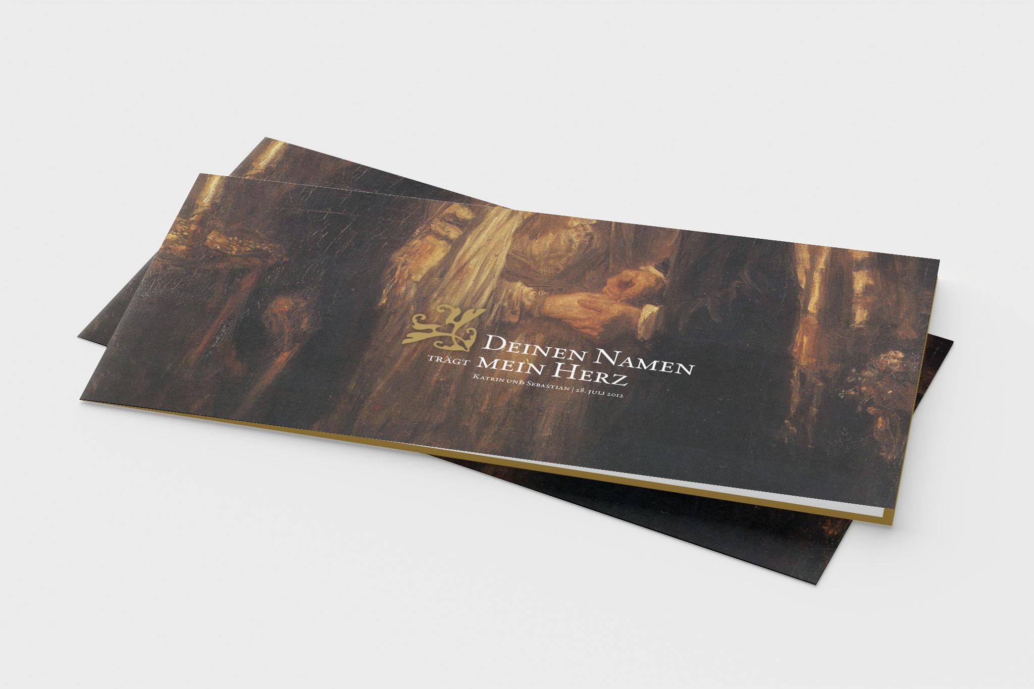 Einladung | Gestaltung: Johannes Willwacher