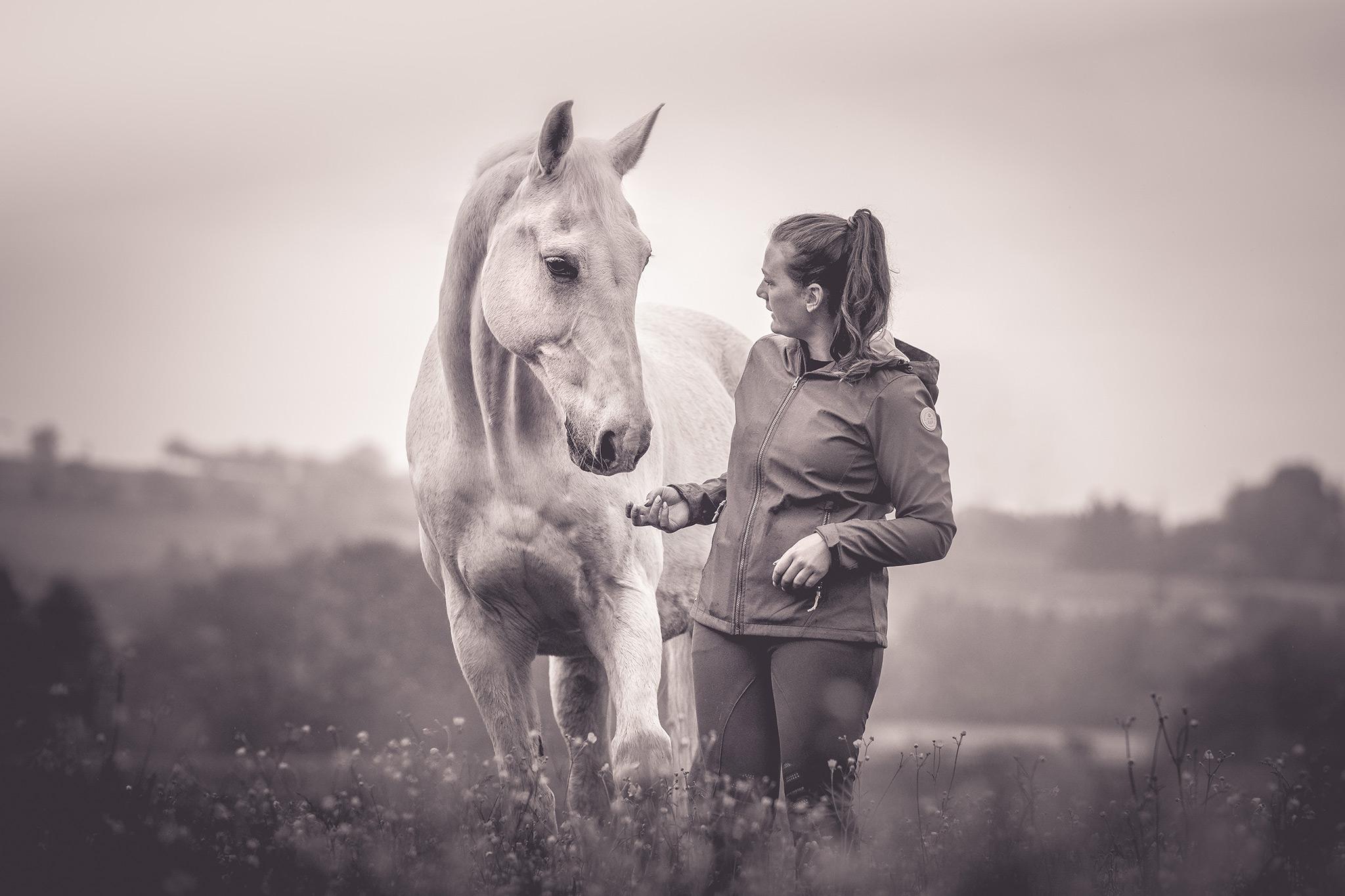 Shooting mit Mensch und Pferd | Foto: Johannes Willwacher
